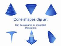 Cone Outline Clip Art
