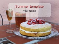 Summer PowerPoint Template thumbnail