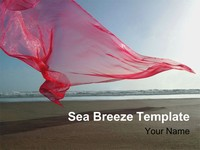 Sea Breeze PowerPoint Template thumbnail