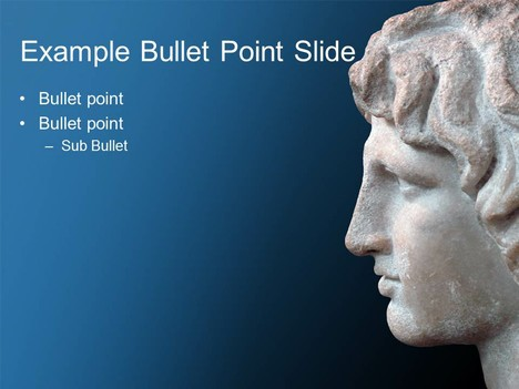 Alexander the Great PowerPoint Template inside page