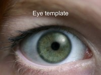 Eye PowerPoint Template thumbnail