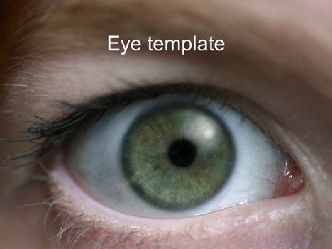 eye powerpoint template