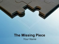 Missing Piece PowerPoint Template thumbnail