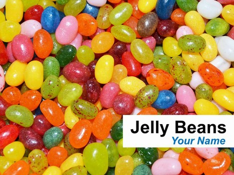 Jelly Beans PowerPoint Template