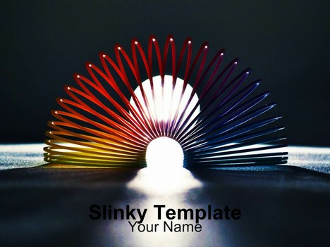 Slinky PowerPoint Template