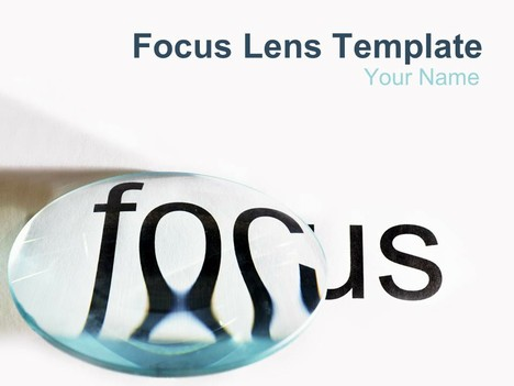 Focus Lens PowerPoint Template