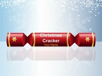 Christmas Cracker (Cool) PowerPoint Template