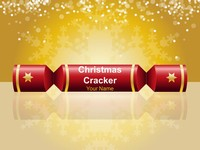 Christmas Cracker (Warm) PowerPoint Template