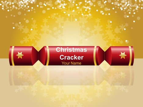 Christmas Cracker Warm Powerpoint Template