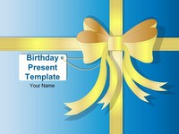 Birthday Present Template