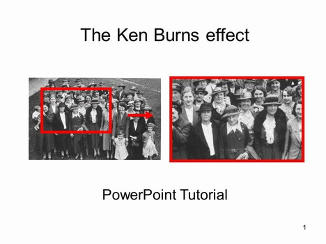 The Ken Burns Effect Template