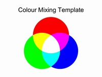 Colour Mixing Template