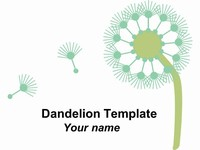 Neutral Dandelion Template