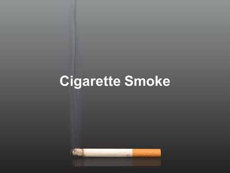 Cigarette Smoke Template