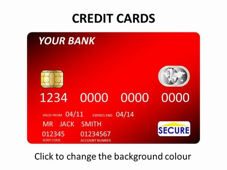 Credit card and bank essay example