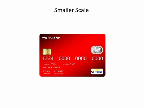 Credit Cards Template inside page