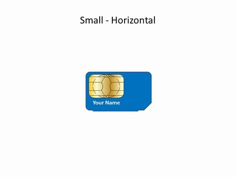 Powerpoint Sim Card Template