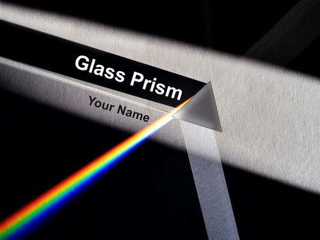 Glass prism powerpoint template toneelgroepblik Choice Image