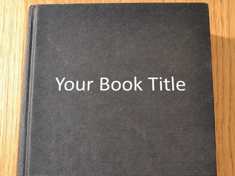 Editable book template toneelgroepblik