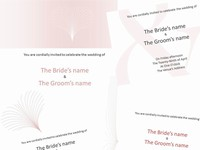 Pink Wedding Invitations thumbnail