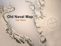 Old Naval Map Template
