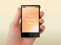 Smartphone PowerPoint Template thumbnail