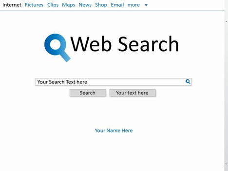 Web Search Template