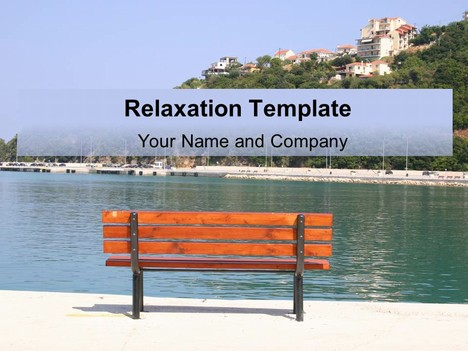 Free Relaxation PowerPoint Template