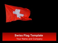 Swiss Flag Template
