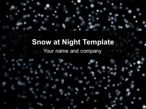 Snow at night template toneelgroepblik Image collections