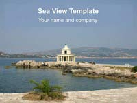 Sea View PowerPoint Template