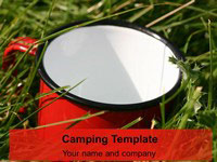 Camping PowerPoint Template