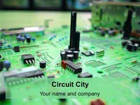 Circuit City PowerPoint Template thumbnail