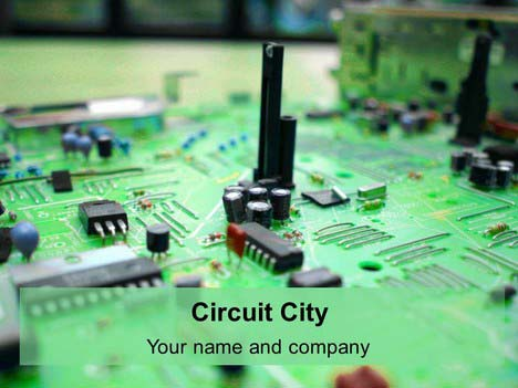 Circuit City PowerPoint Template
