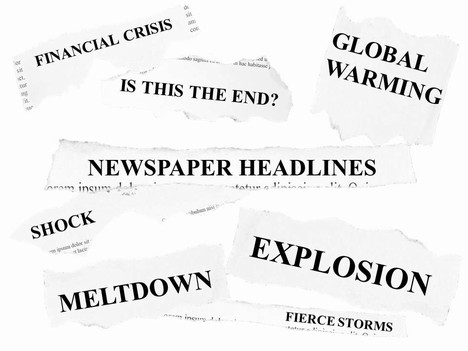 Free newspaper headlines powerpoint template toneelgroepblik Gallery