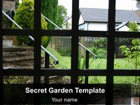Secret Garden Background Template