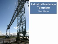 Industrial Landscape Template