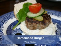 Home-made Burger Template thumbnail