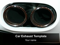 Car Exhaust Template