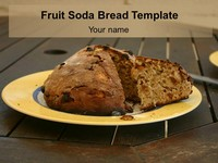 Fruit Soda Bread Template