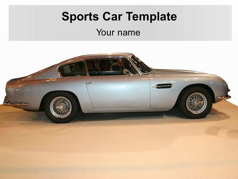스포츠 자동차 템플릿