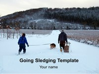 Going Sledging Template thumbnail
