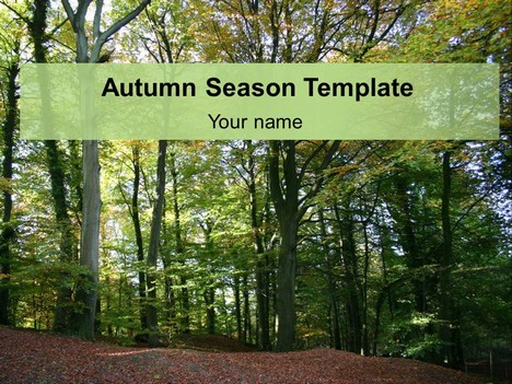 Autumn Season Template