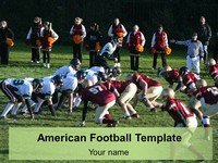 American Football Template thumbnail