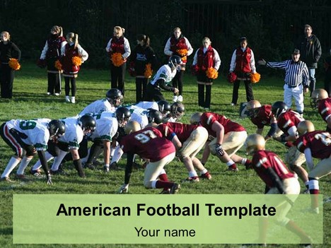 American Football Template