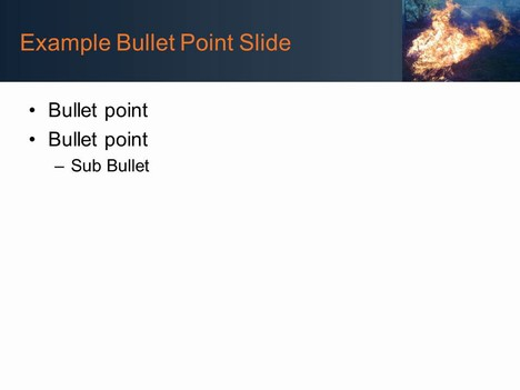 Free Fire PowerPoint Template inside page
