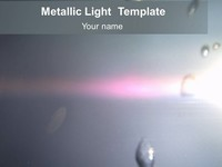 Chic Metallic Light Template