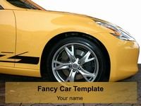 Fancy Car Template