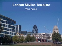 London Skyline Template