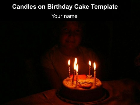 Presentation magazine birthday powerpoint templates candles on birthday cake template thumbnail toneelgroepblik Gallery